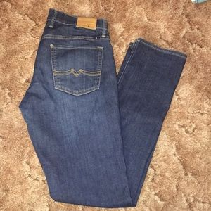 "Women's Lucky Brand Jeans size 4(27)/32""length"